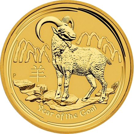 Perth-Mint-2015-Australian-Lunar-Year-of-the-Goat-Gold-Bullion-Coins